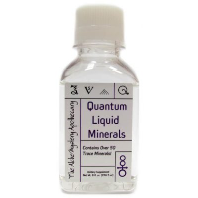 Quantum Liquid Minerals